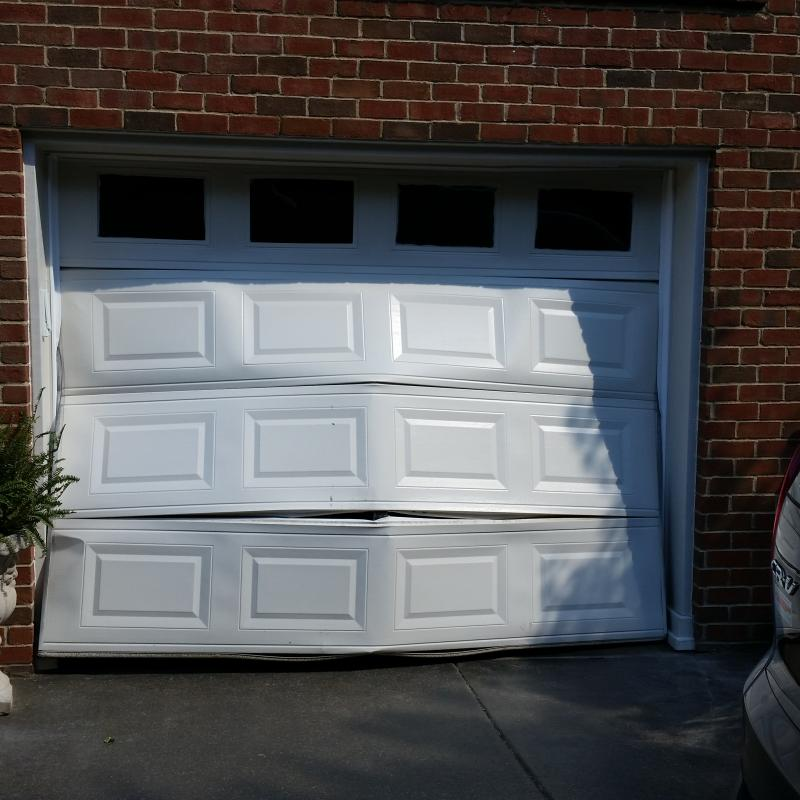 Drive Through Garage Door Of Blair Garage Door 615 796 8900 Sections And Hardware